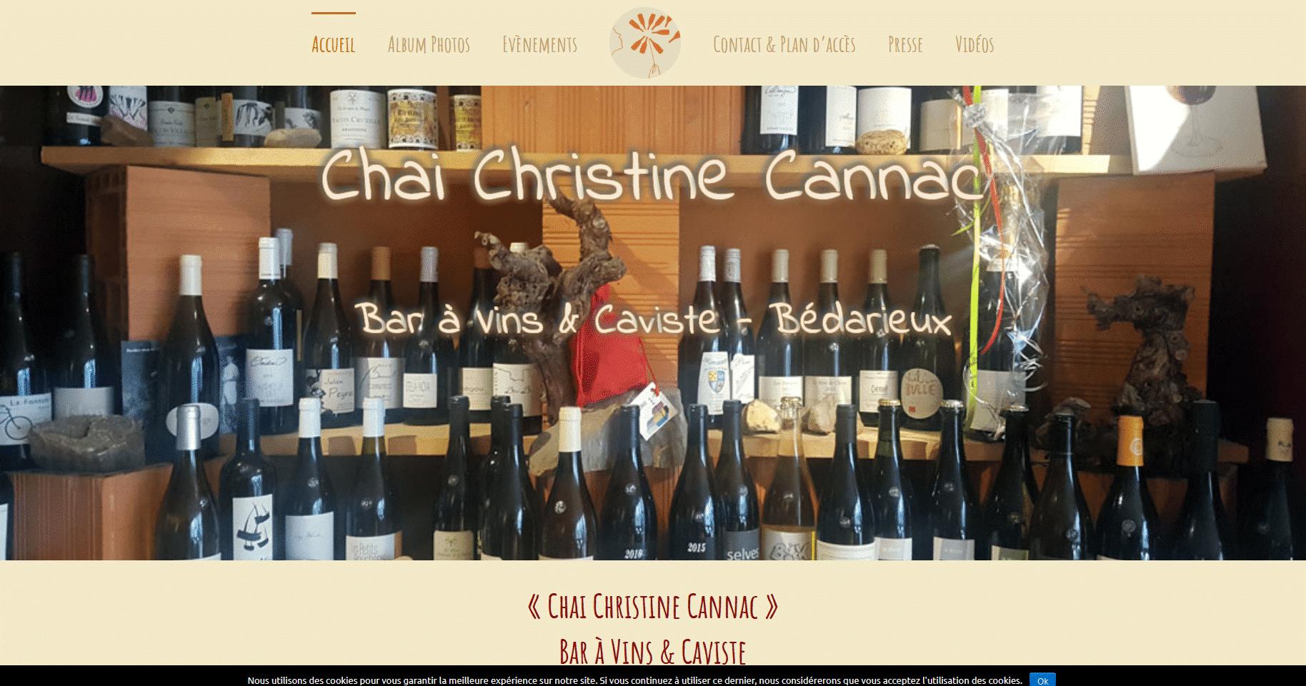 Chai Christine Cannac Caviste et Bar à Vins Bédarieux Chai Christine Cannac