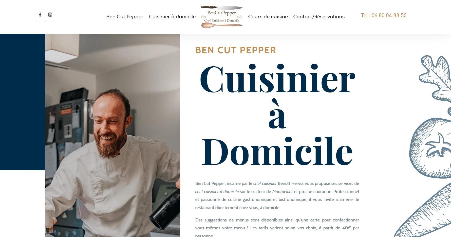Ben Cut Pepper
