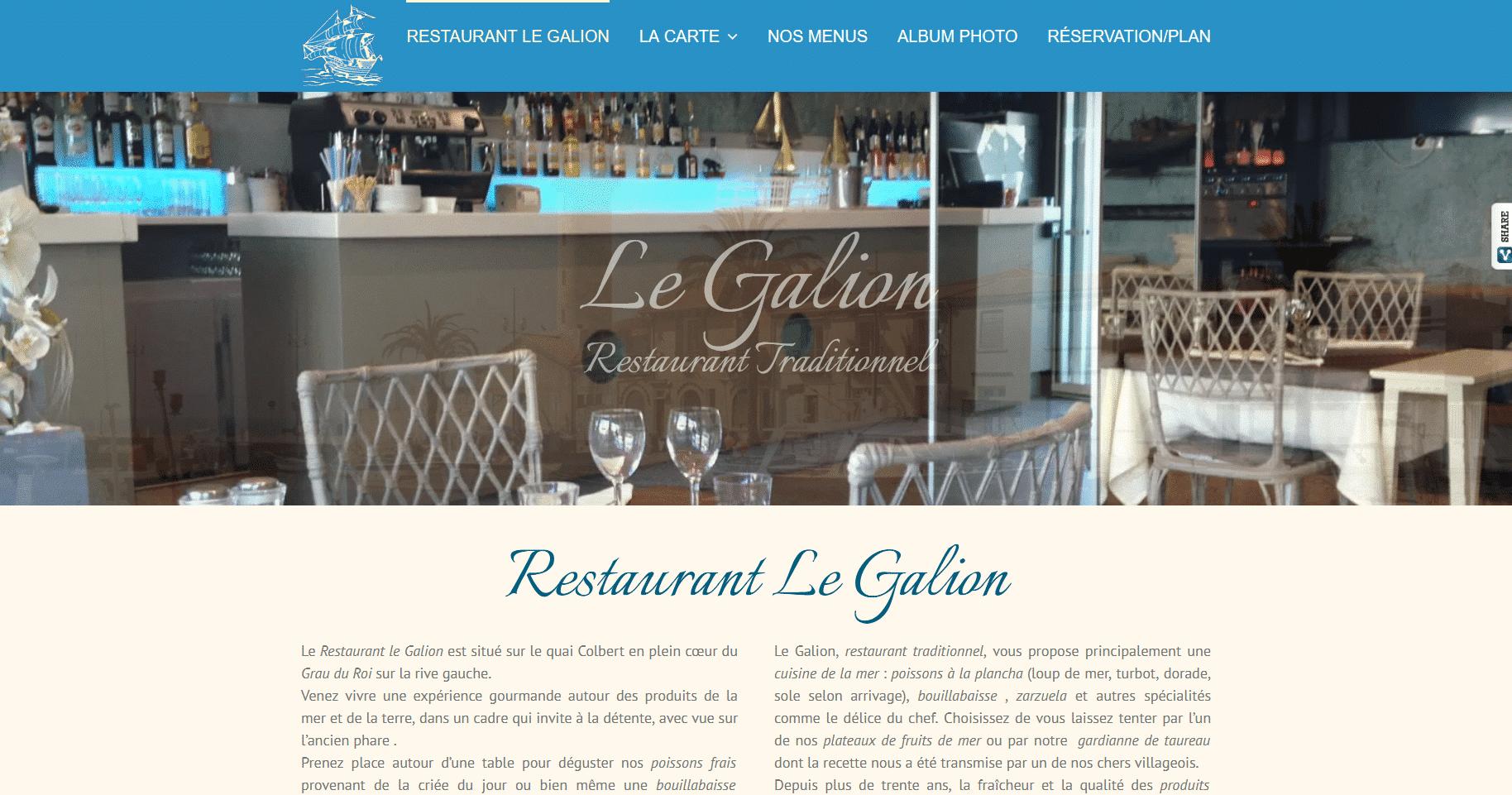 RESTAURANT LE GALION Restaurant Le Galion
