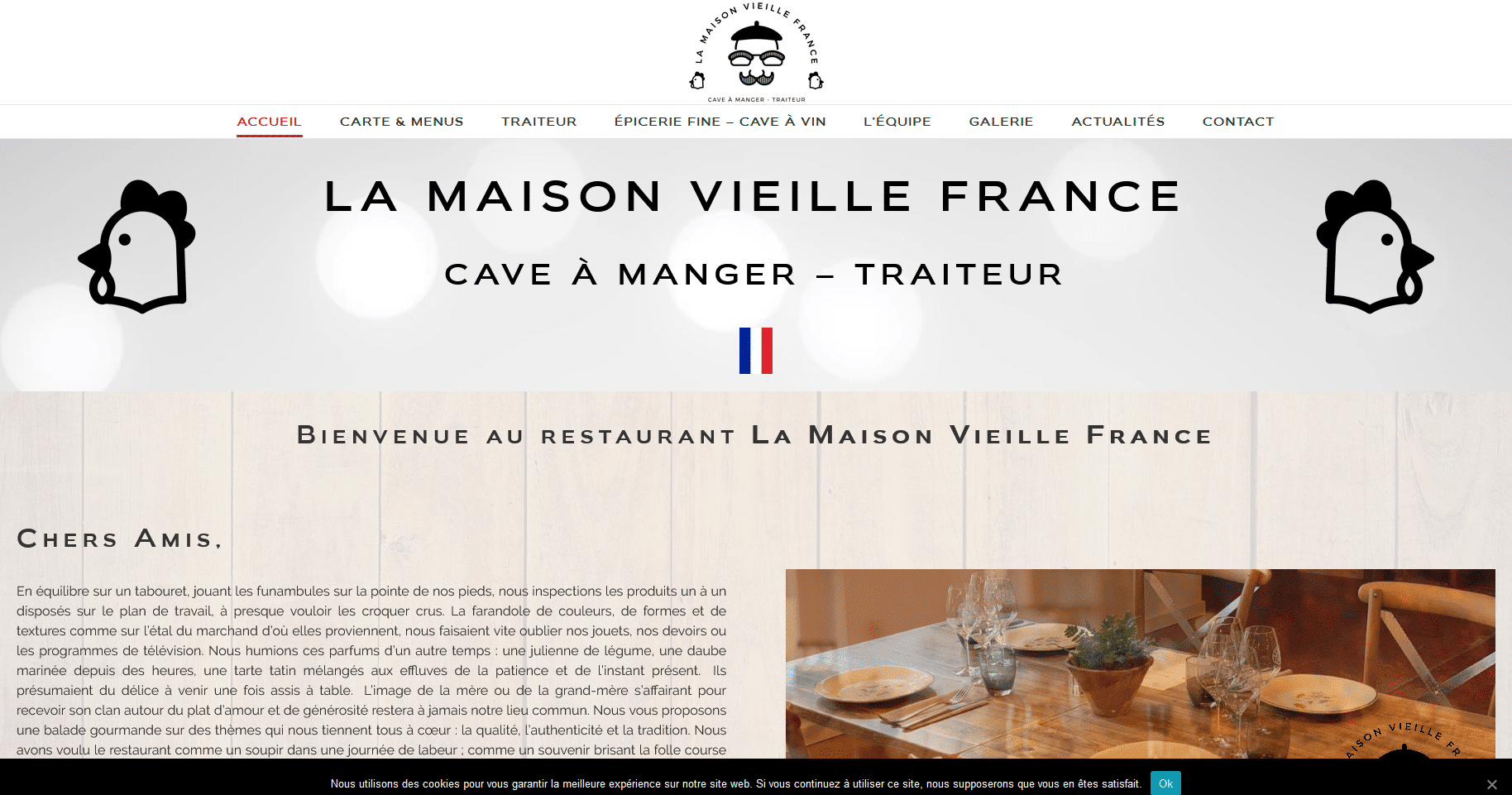 Restaurant Maison Vieille France